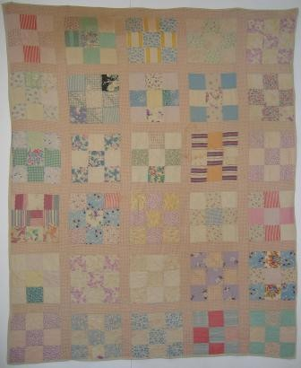 2007-4-A Red Cross quilt