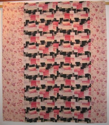 2002-13 strippy art deco quilt
