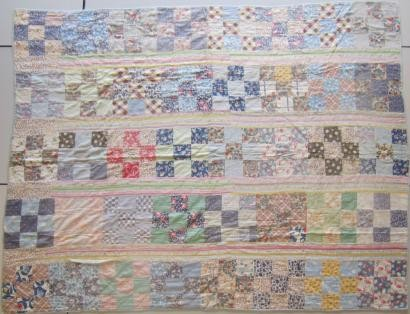 2013-3-B  Towyn Red Cross quilt