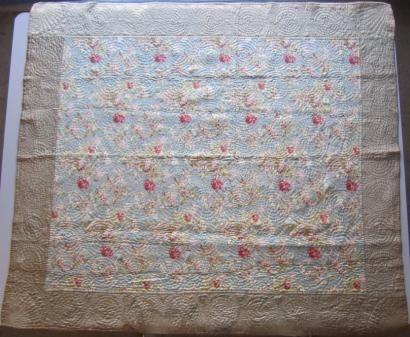 2014-4 Welsh floral wholecloth